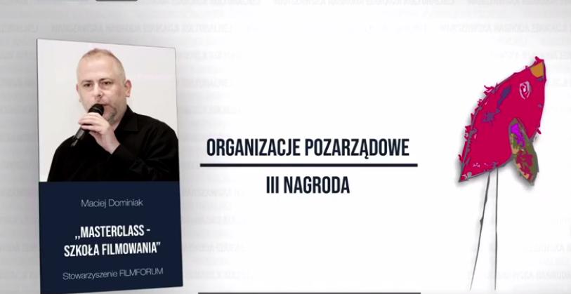 warszawska nagroda edukacji kulturalnej – masterclass