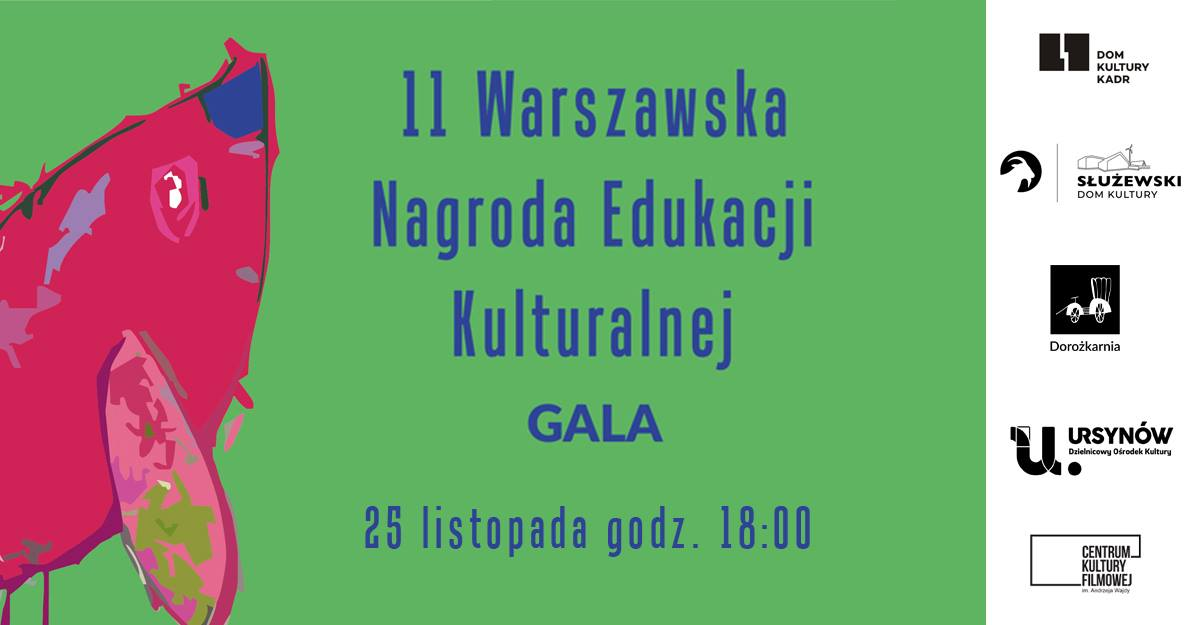 warszawska nagroda edukacji kulturalnej